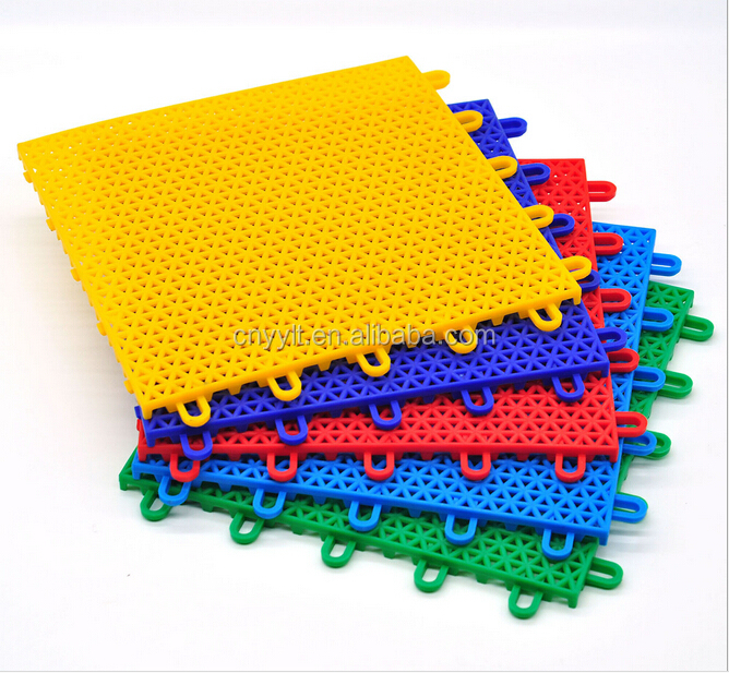 large stock top quality colorful Plastic mat outdoor ground mat