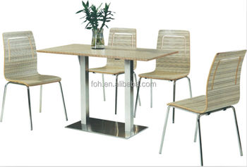 Indoor outdoor Cafe Table And Chairs For Coffee Shop