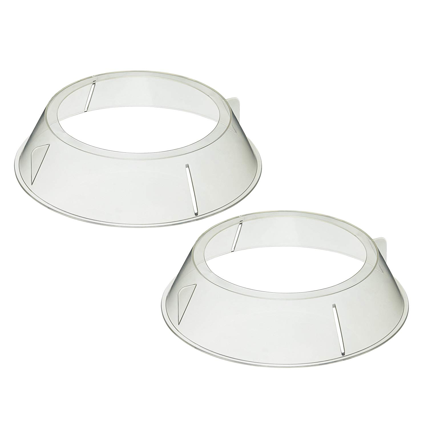 Kitchen Craft Microwave Cookware Stacking Plate Rings, Set Of 2 By Kitchencraft