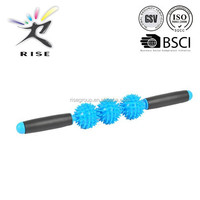 Intact Health Massage Roller Stick Blue Muscle Soreness Relief and Relaxation Tool Increase Flexibility