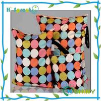 Cloth Diaper Bag Baby Wet Bag Waterproof Monther Wet Nappy Bag