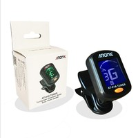 Aroma AT-01A guitar clip on tuner digital music tuner
