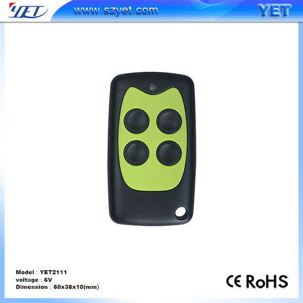 Shenzhen factory wholesale wireless rf universal 433mhz remote control key FOB