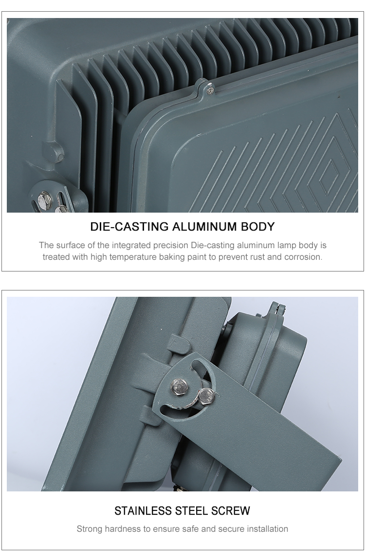 High power Ip65 waterproof outdoor cob Die-casting aluminum 400w 500w 600w led floodlight