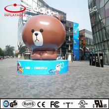 inflatable decoration cartoon bear for advertising event