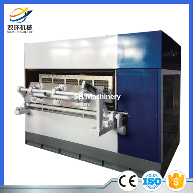 Good quality egg tray making machine price made in China with SH Machinery