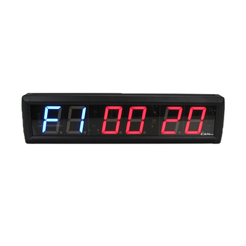 Ganxin Gym Equipment 2.3inch led interval timer
