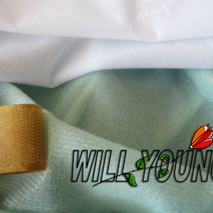Polyester tricot brush fabric vellutino for Italy market