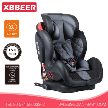 ECER44 04 Certificate Baby Car Seat For With Sweden Buckle Cradle