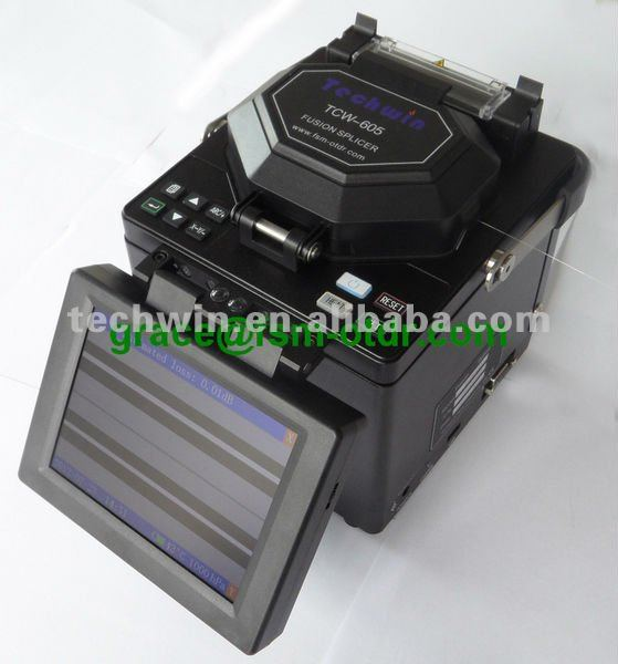 optical fiber fusion splicer TCW-605 your partner who make your job easy and happy