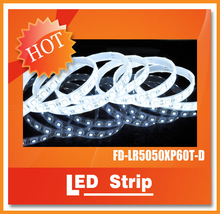 expensive Waterproof IP68 RGB SMD5050 12V /24VDC led strip light with CE,ROHS approved