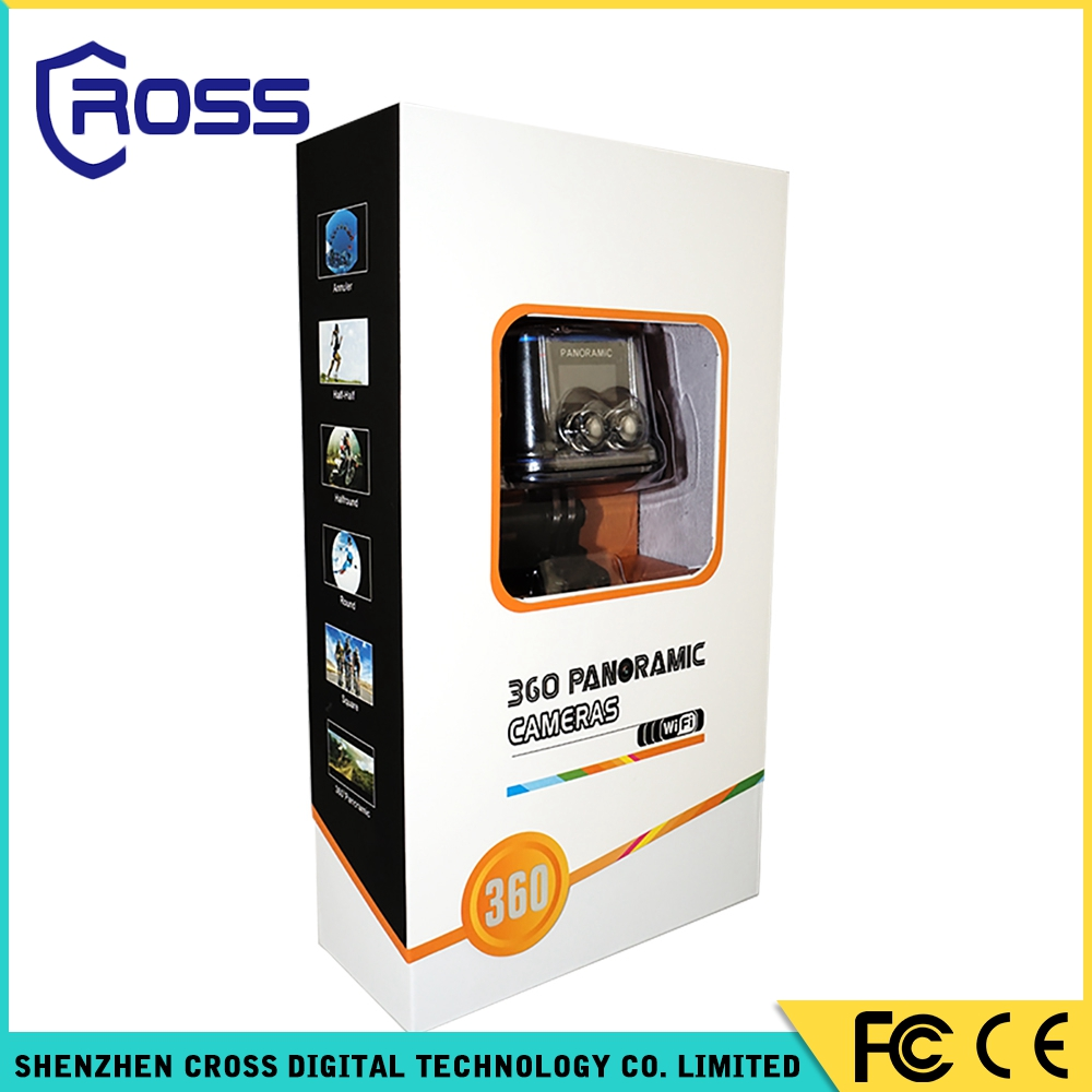 new design hot sell 360 half and half panoramic car camera