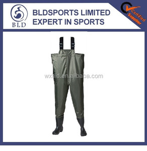 100% waterproof high quality fishing 190D nylon waders