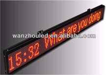 Single line led display,small led moving message