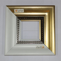 8x8 inch White Finish Square Picture Frame with 8cm width