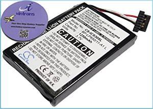 vintrons (TM) Bundle - 1250mAh Replacement Battery For NAVMAN BP-LP850/11-A1 L, + vintrons Coaster