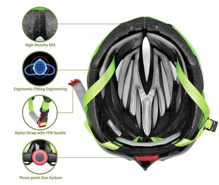 road racing helmet AU-ZH09 Details 9