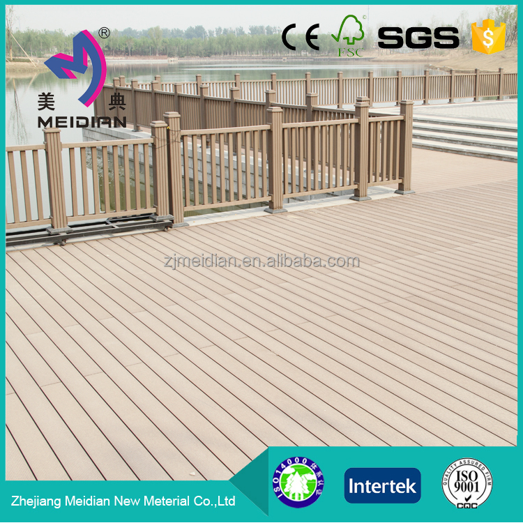 Weather Resistant Dampproof Wpc Standard Deck Board Size - Buy ...