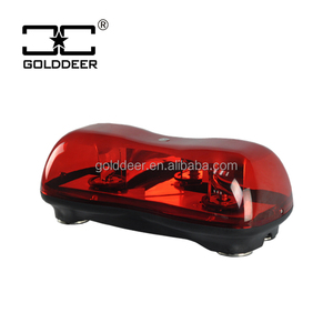 Red Color Halogen Rotating light bar for fire truck car (TBD01451)