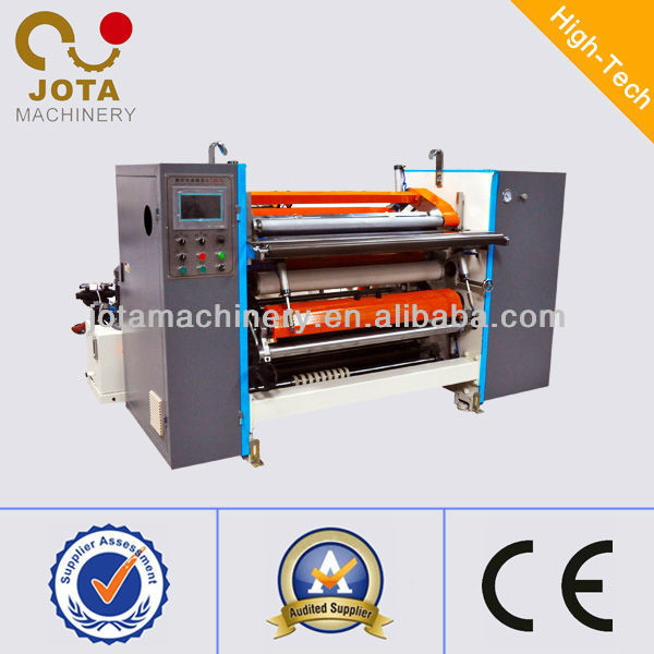 Banana Roller Precision Thermal Receipt Roll Slitter Cutter Machine, Plotter Paper Slitting Machine, Film Tickets Slitter Rewind