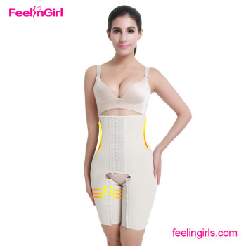 23f8b175d9152 FeelinGirl Women Slim Body Shaper Suit Strapless Shapewear With Open Crotch