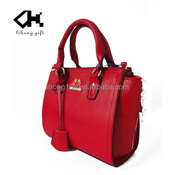wholesale custom design fashion women's bag message of leather bags