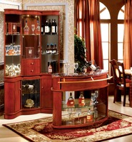 Bedroom furniture Corner bar cabinet for nursing homes