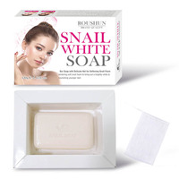 Snail White premium formula for clear skin acne, freckles, dark spots whitening thailand material body and facial soap
