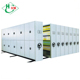 Factory Folding manual office File storage Moving Compact mobile shelving system