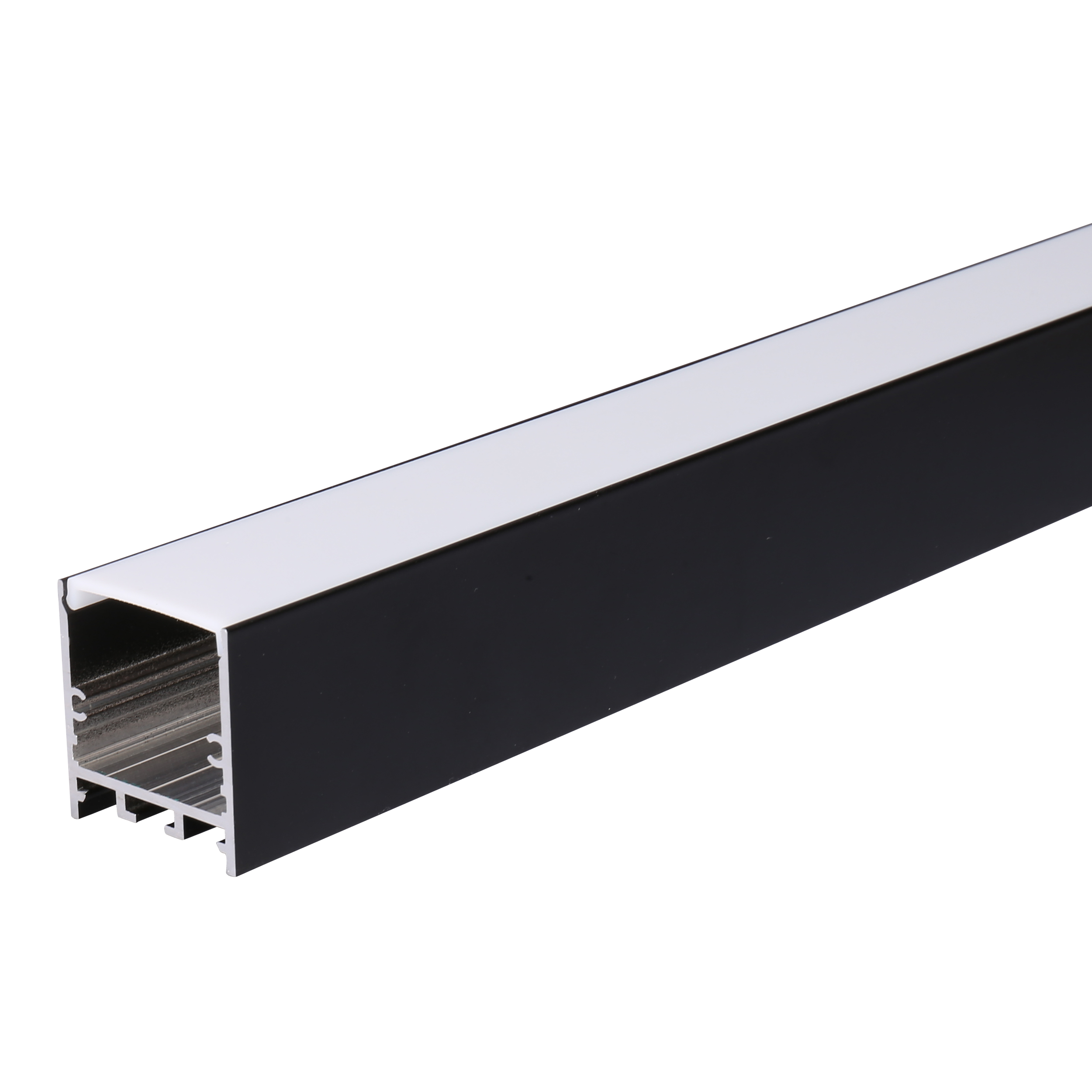 6063 T5 Industrial/Door/Window/Led Extrusion Rectangular Tube Aluminium Profile