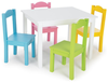 wooden purple kids table set 1table and 4chairs best price wooden kids table and chair