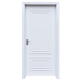 American Pre Hung Latest Designs Modern Composite Wooden Interior Room Doors