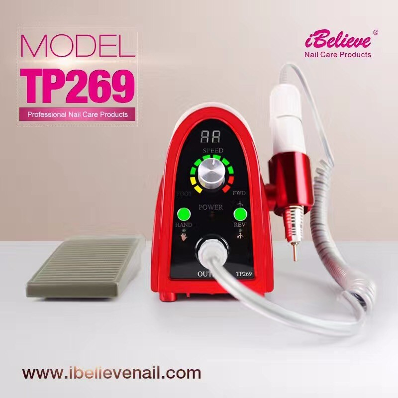 Electric Manicure Pedicure Tools Nail Drill Machine For Nail Salon Beauty