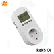 EU socket room heating plug thermostat temperature controller 220 volt 16A 3000W