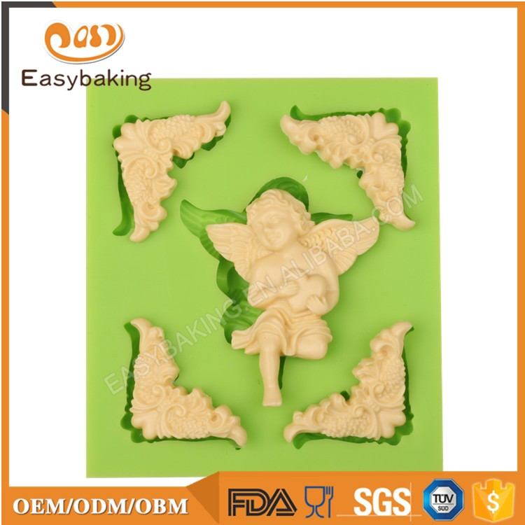 ES-1931 Fondant Mould Silicone Molds for Cake Decorating