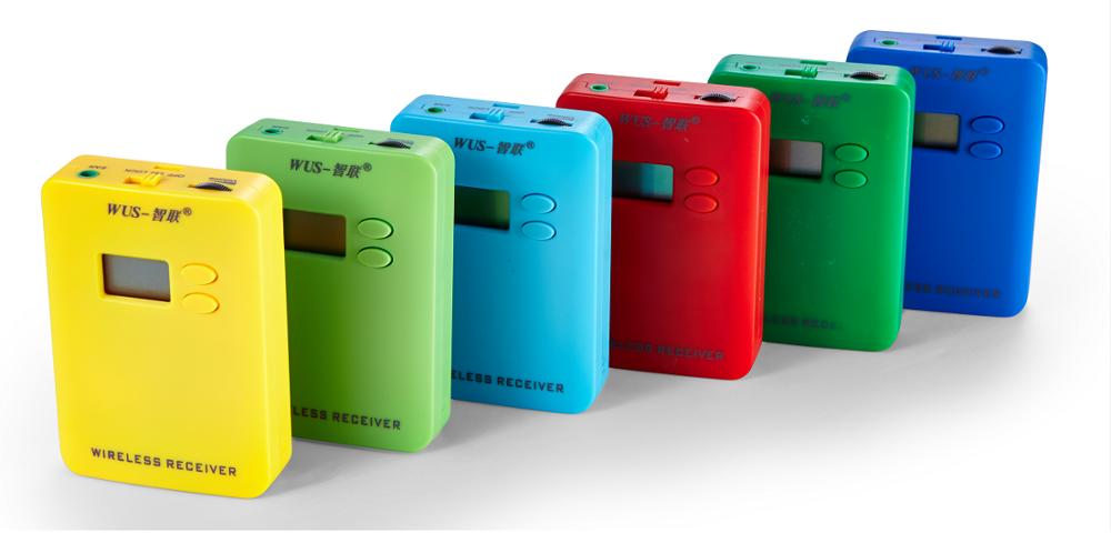 Type De batterie Guide Récepteur avec Longue portée pour les groupes de touristes et les attractions