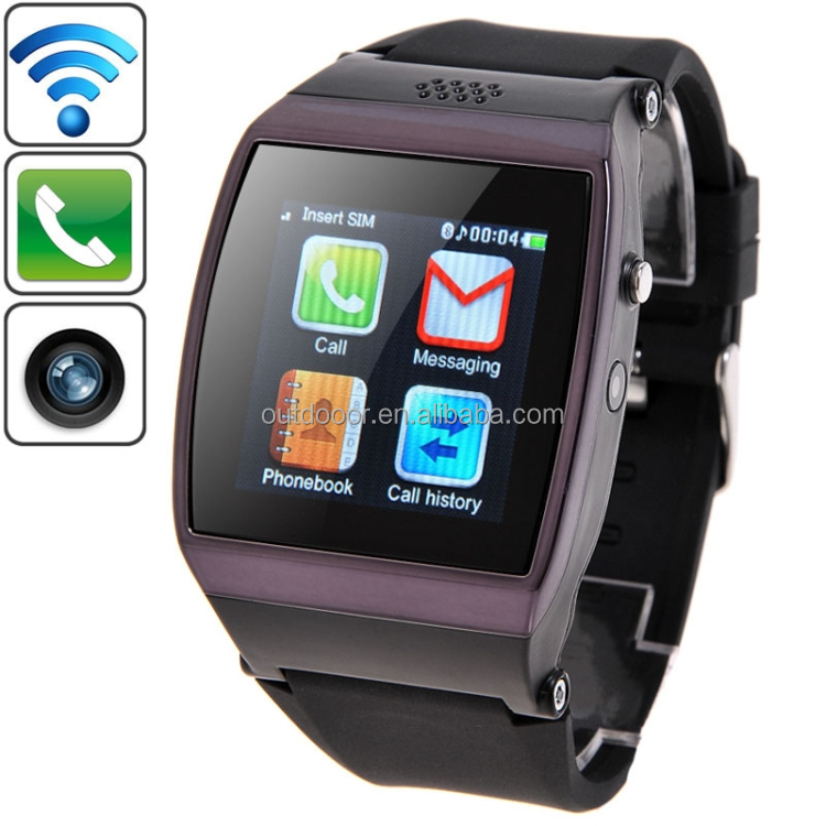 Dropshipping CL-W205 GSM Smart Watch Phone,1.55 inch Ultra HD Screen, Pedometer / Camera / Bluetooth, Network: 2G