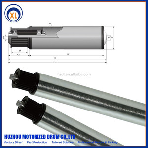 Toothed Belt Wheel idler,Female Thread Type,Polymer Plastic Steel Driving Conveyor Roller
