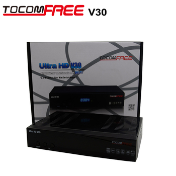 Satellite receiver tocomfree v30 with built jb200 wifi diseqc 40*1 newcam cccam work same with jynxbox