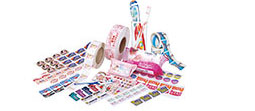 HL Automatic Top Bags Labeling Machine Plastic Pouch Plane Labeling Machine