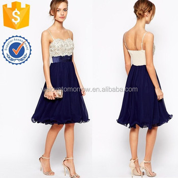 1f1e7a52ca2b4 Summer sexy bandeau neckline women little mistress flower applique overlay prom  dress
