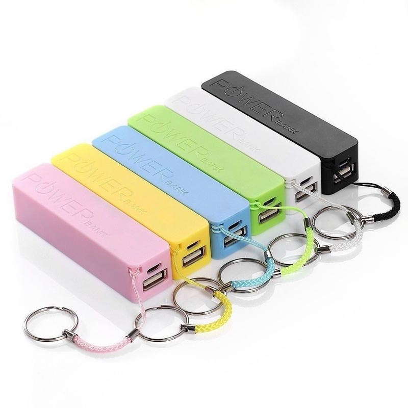 rohs 3200mah 500 circles times portable power bank with full colors