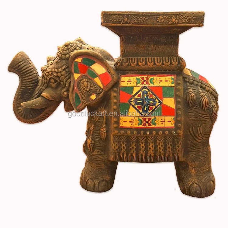Wholesale Country Primitive Home Decor: Hand Crafts Elephant Bangkok Dropshipping Primitive Home