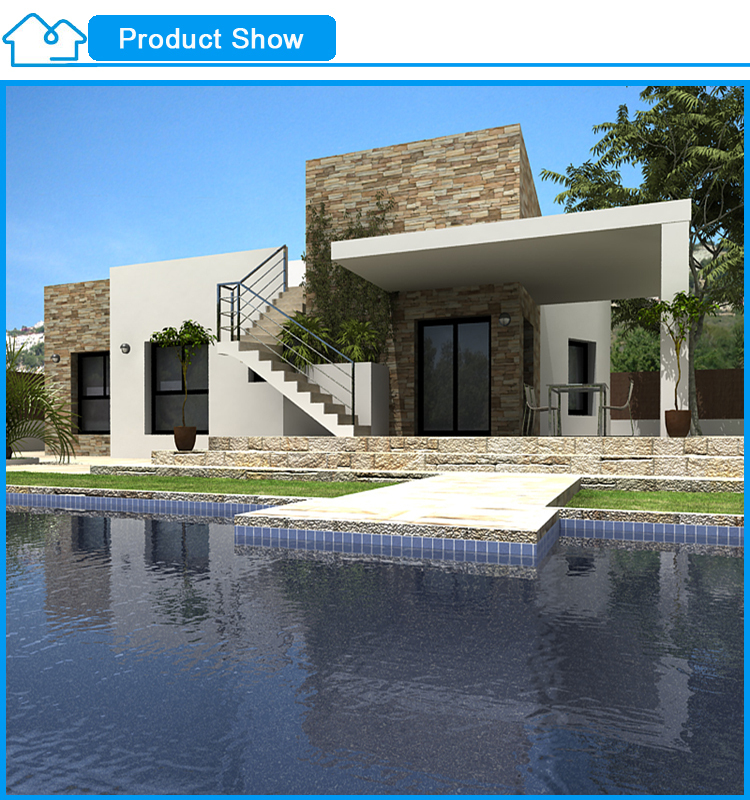 Cheap Prefabricated Modular Homes With Swimming Pool