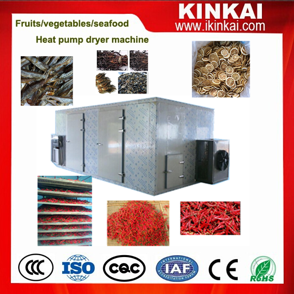 industrial fruits& vegetables Dehydrator with heat pump dryer