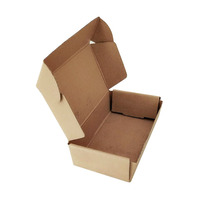Promotion disposable kraft paper meal box takeaway fast food grade package box of chicken
