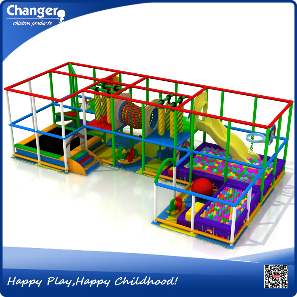 Soft indoor playground home play equipment toddler