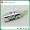12v t10 w2w canbus led light, high quality 25W cree car truck 12v t10 w2w canbus led light