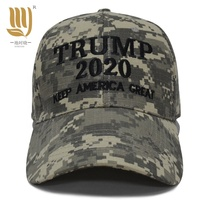 Cap Factory Provide Trump Camo Cap With Embroidery Keep America Great Trump 2020 Cheap Price