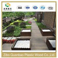 zibo wood plastic composite discounted recyclable eco friendly cheap bamboo flooring